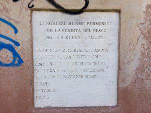 Kirchen in Venedig Tafel am Campo S. Pantaleone