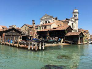 Gondelwerkstatt Tramontin Gondelfahrt Venedig