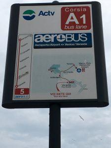 Transfer Flughafen Venedig mit dem Aerobus Bus