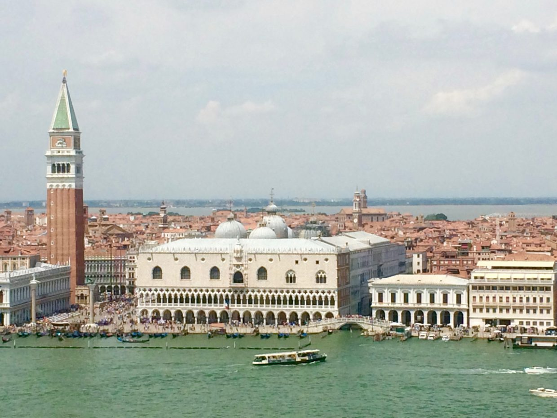 Pflichtprogramm Venedig San Marco Markusplatz Dogenpalast Canal Grande