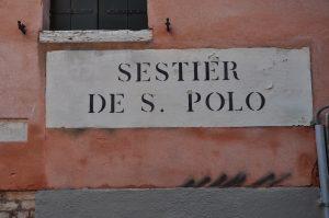 Orientierung in Venedig anhand der Sestiere San Polo