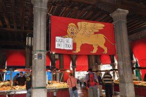 Pflichtprogramm Venedig Rialto Fischmarkt rialto no se toca