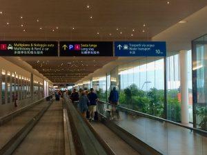 Transfer Flughafen Venedig mit Alilaguna oder Wassertaxi Orientierung auf dem Flughafen