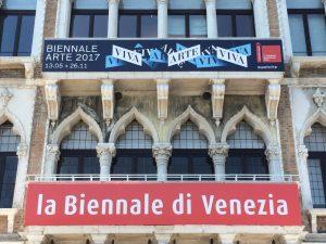 Veranstaltungen in Venedig Kunst-Biennale oder Biennale d'Arte Plakat