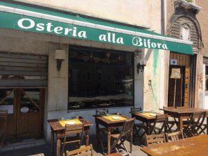Restaurants in Venedig Osteria alla Bifora