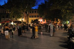 Veranstaltungen in Venedig Tango oder Milonga auf dem Campo di San Giacomo dall'Orto